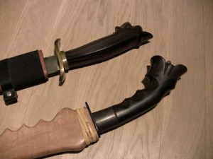 Scabbard and Handles