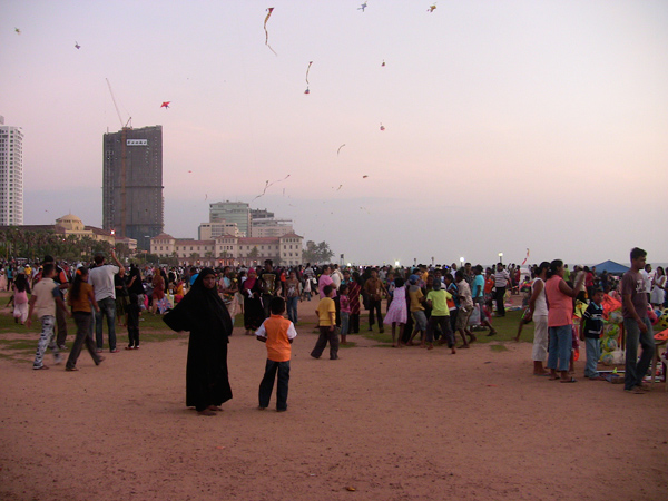 Galle Face Green, Sri Lanka
