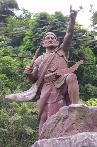 Taiwanese Aboriginal Statue
