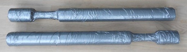 Finished, Padded Training Sticks