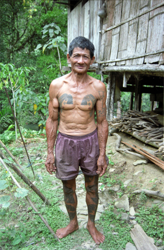 68 Year Old Iban Man