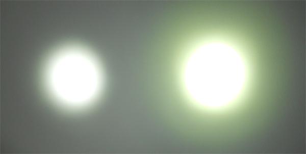 LX2 vs. EB2 Beam