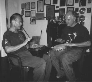 Dan Inosanto Drumming